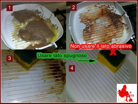 Come pulire la bistecchiera rivestita in ceramica