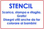 Stencil banner