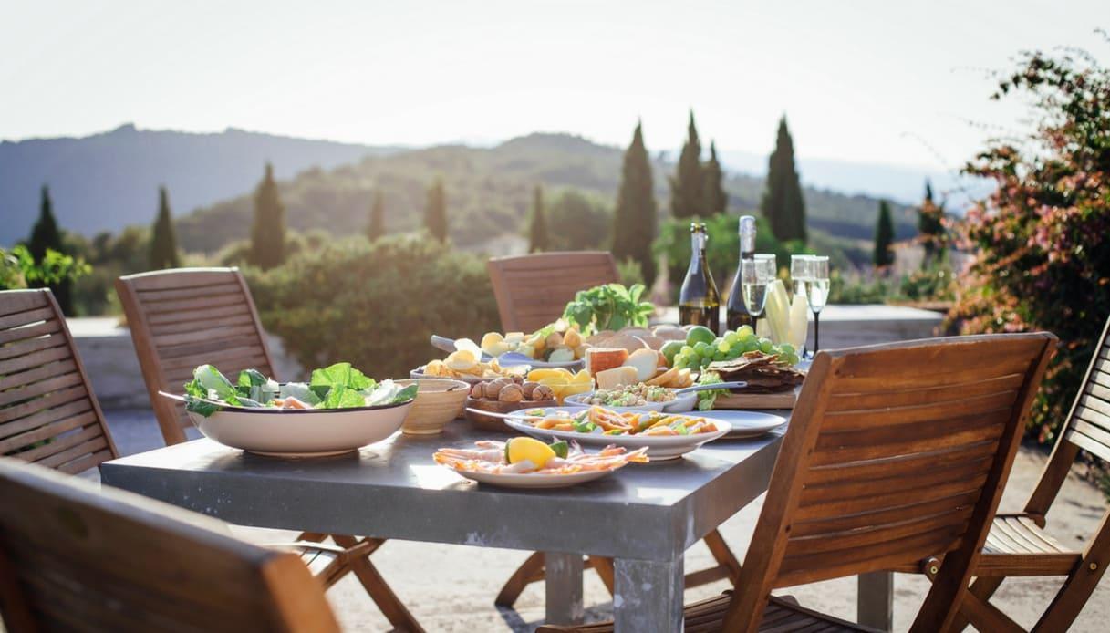dove viene consumata la dieta mediterranea menu